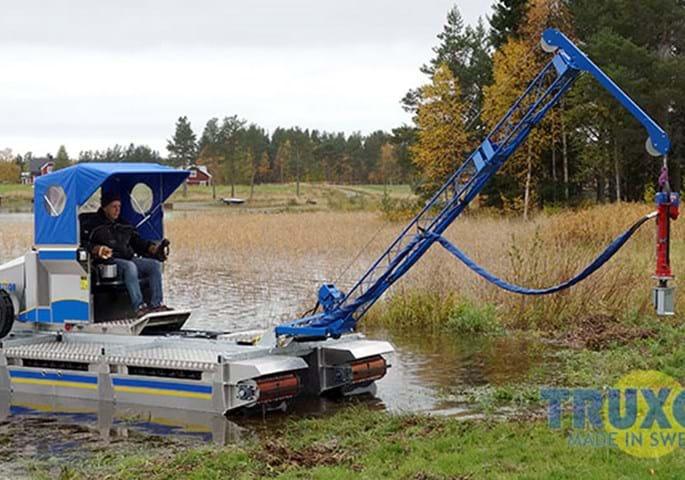 HYCON handheld hydraulic post driver HPD   HYCON